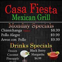 Casa Fiesta Méxican Grill