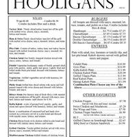 Hooligans Restaurant