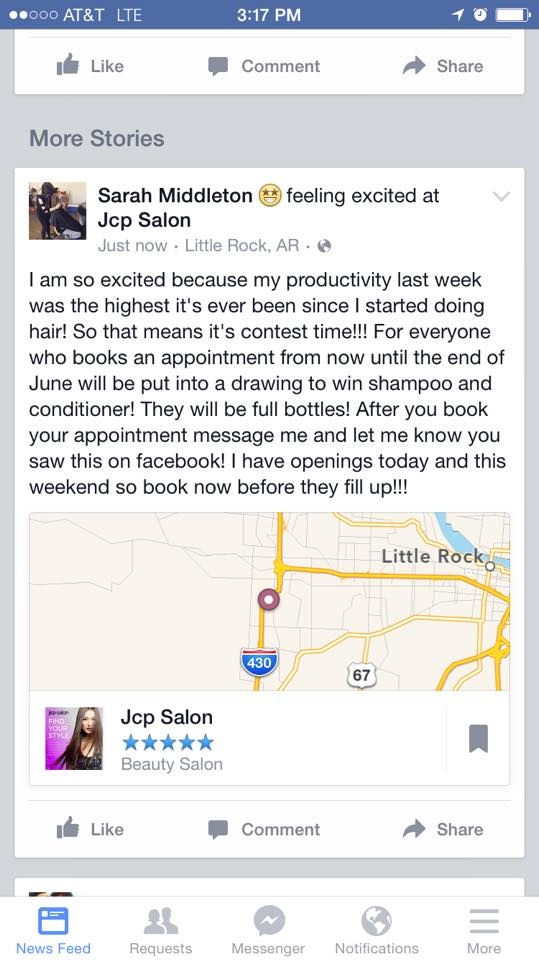 JCPenney Salon 2600 S Shackleford Rd, Little Rock