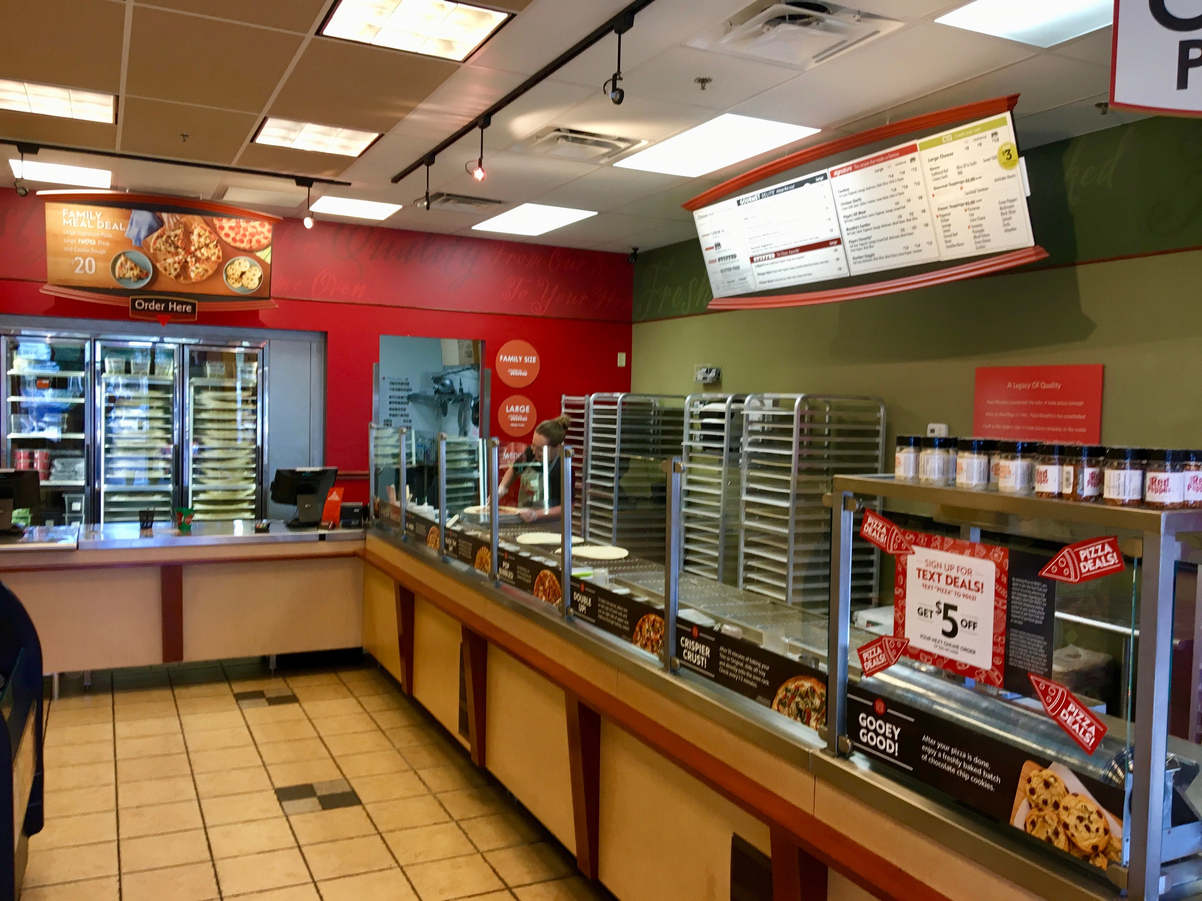 Papa Murphy's Take 'N' Bake Pizza 1333 Iron Springs Rd suite b, Prescott