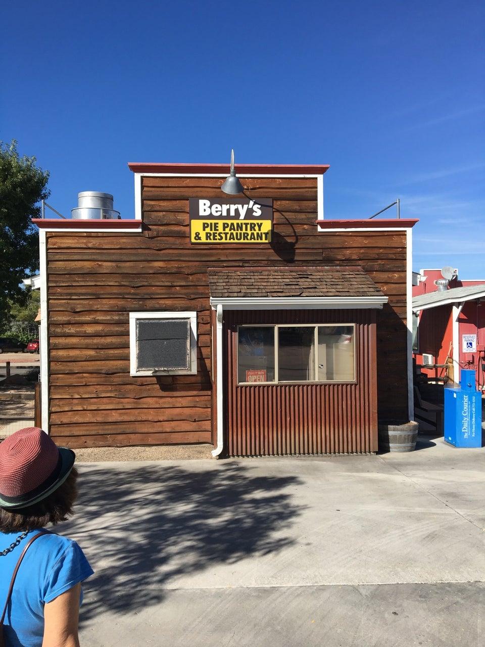 Berry's Pie Pantry 230 N Virginia St, Prescott