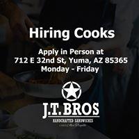J.T. Bros Sandwich Company