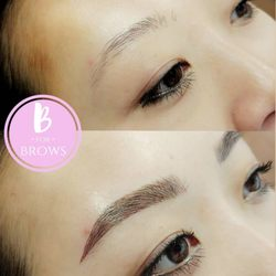 Microblading Eyebrows Vancouver by B for Brows Beauty Tattooist