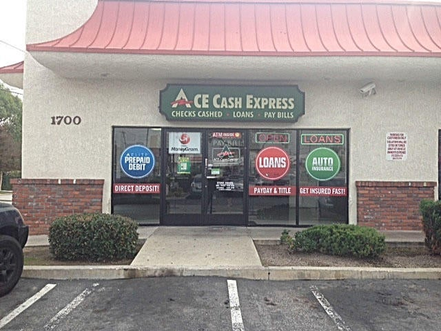 ACE Cash Express 1700 W Valley Blvd, Alhambra