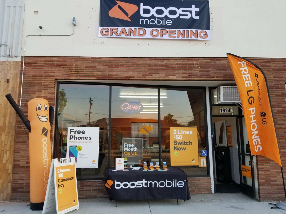 Boost Mobile 1100 W. Commonwealth Bl. #D, Alhambra