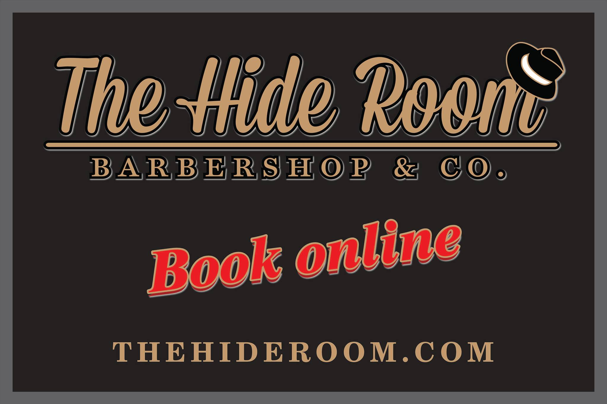 The Hide Room barbershop and CO
