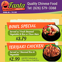 FANTA CHINESE FOOD