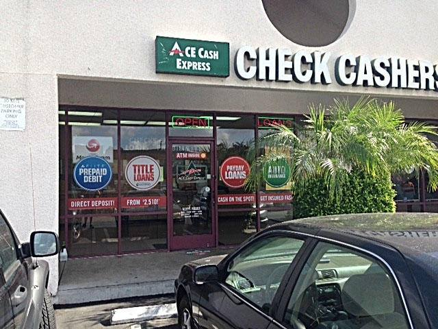 ACE Cash Express 6344 San Fernando Rd, Glendale