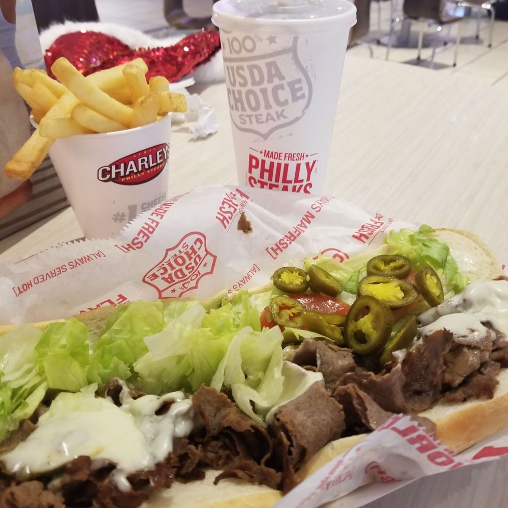 Charleys Philly Steaks 500 Lakewood Center Mall Ste 132, Lakewood