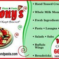 RigaTony's Pizza & Pasta ?