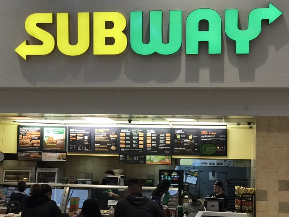 Subway Restaurants 607 Great Mall Drive FC-7 The Great Mall of the Bay Area, Milpitas