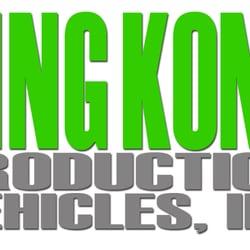 King Kong Production Vehicles