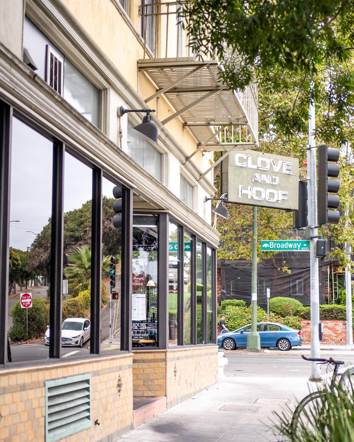 Clove And Hoof 4001 Broadway, Oakland