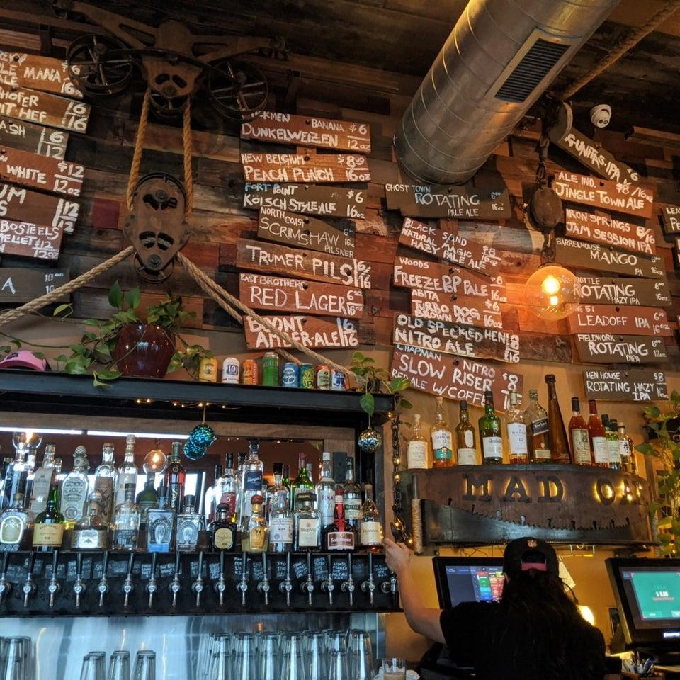 Mad Oak Bar 135 12th St, Oakland