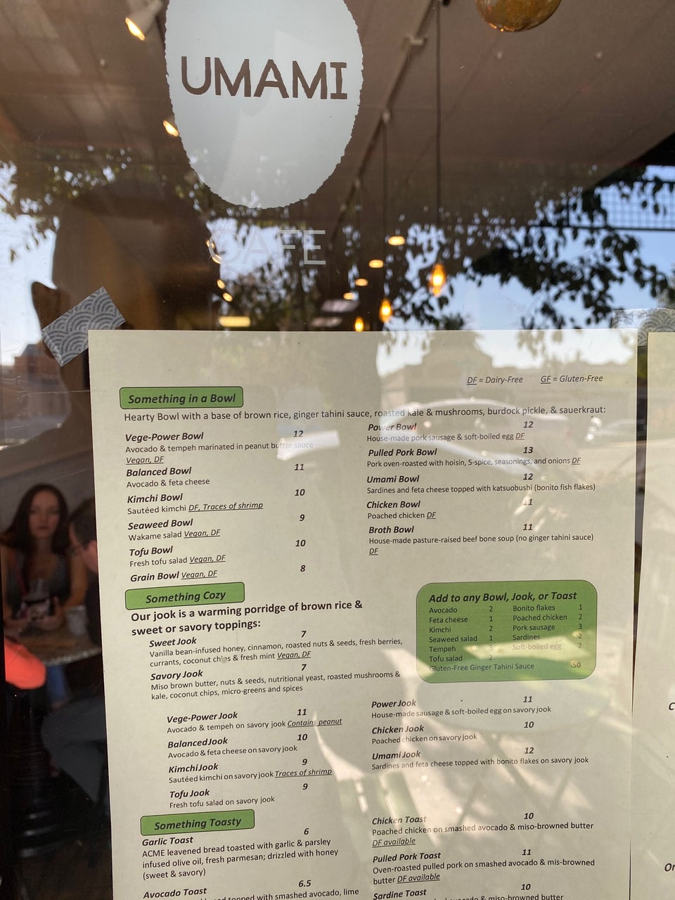 Cafe Umami 2224 MacArthur Blvd, Oakland