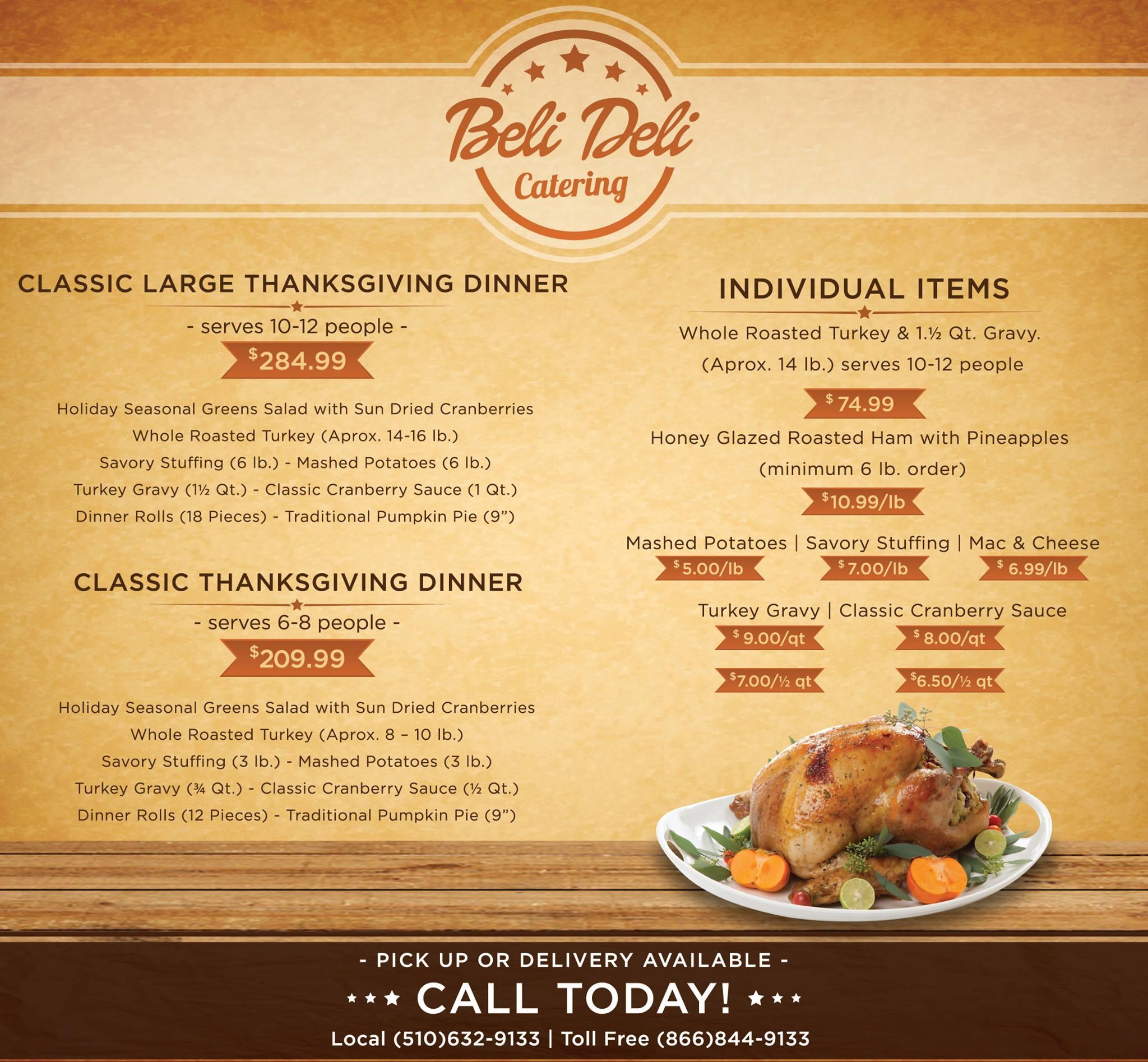 Beli-Deli Gourmet Catering 8105 Edgewater Dr #109, Oakland