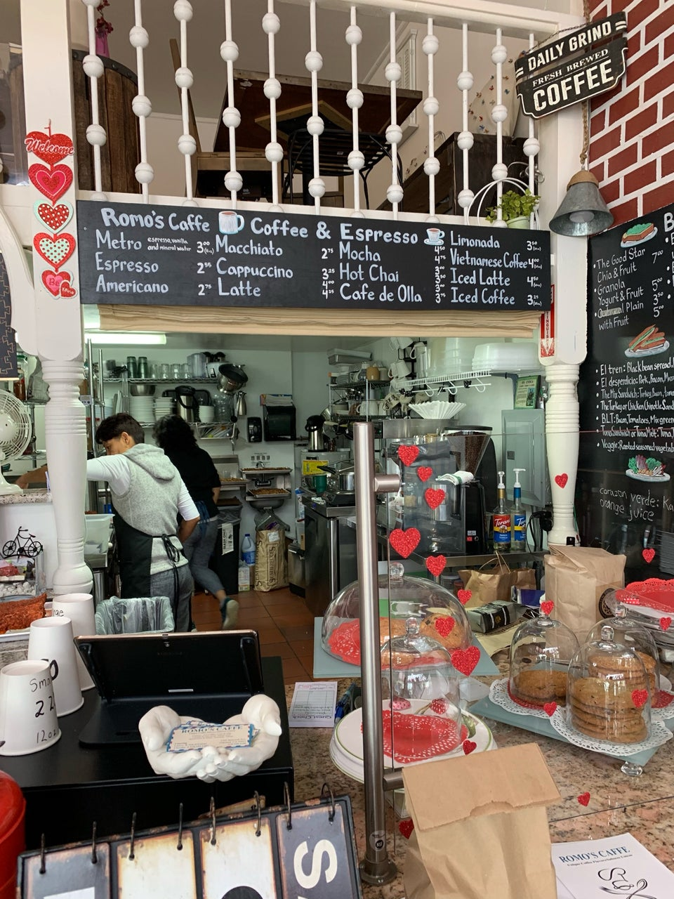 Romo's Caffe 5395 Bancroft Ave, Oakland