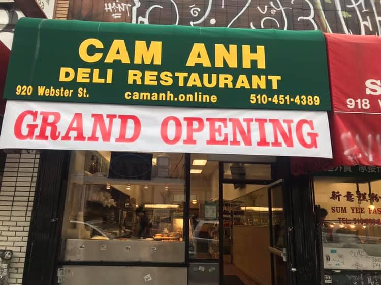 CAM ANH DELI RESTAURANT 920 Webster St, Oakland
