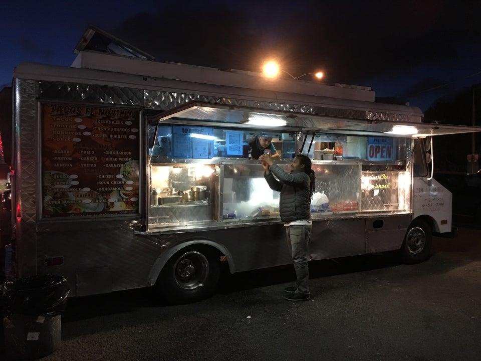 El Novillo taco truck Parking Lot Fruitvale Ave & E 10th St, Oakland