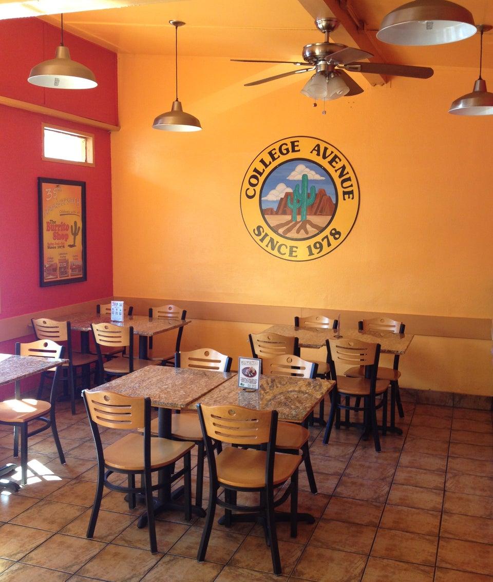 The Burrito Shop 5359 College Ave, Oakland