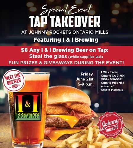 Johnny Rockets Ontario Mills, 1 Mills Cir, Ontario