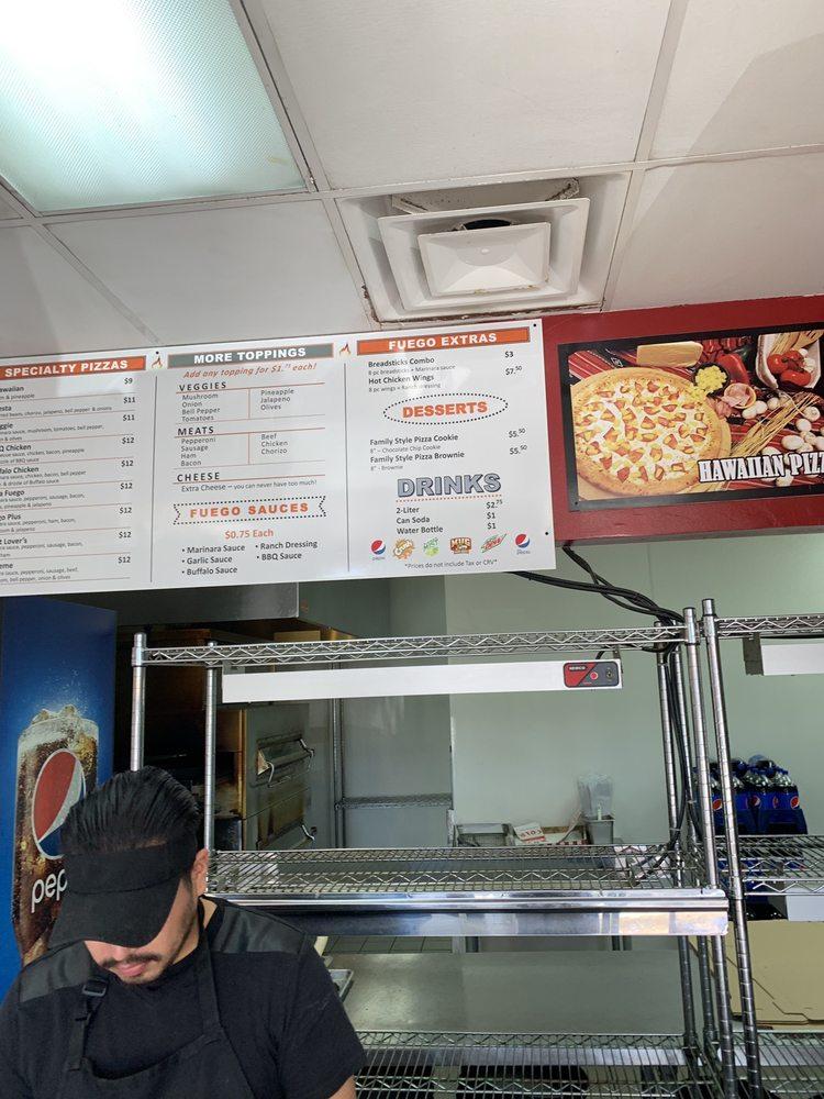 PIZZA FUEGO 805 S Mountain Ave, Ontario