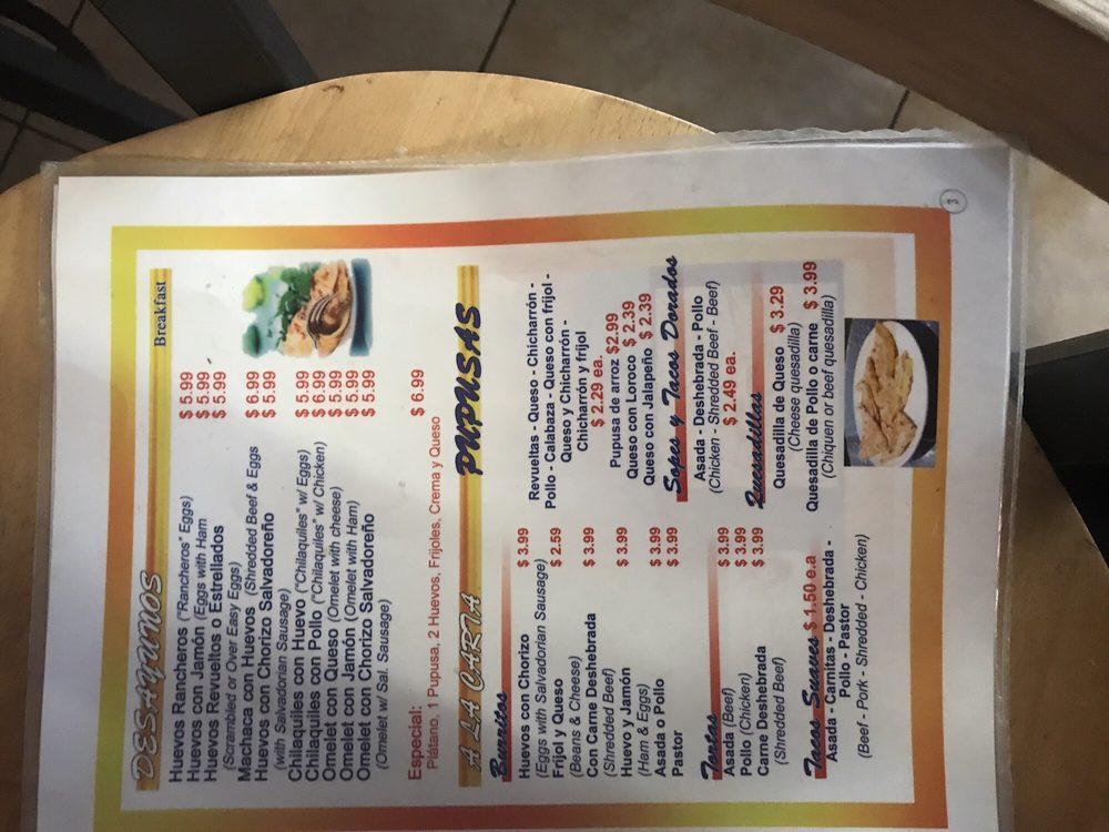 Pupuseria Gladys Restaurant 741 W Holt Blvd, Ontario