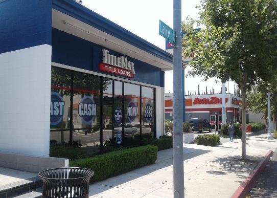 TitleMax 558 N Lake Ave, Pasadena