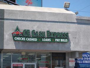 ACE Cash Express 1664 E March Ln #1, Stockton