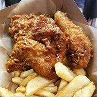 Honey Dress Fried Chicken