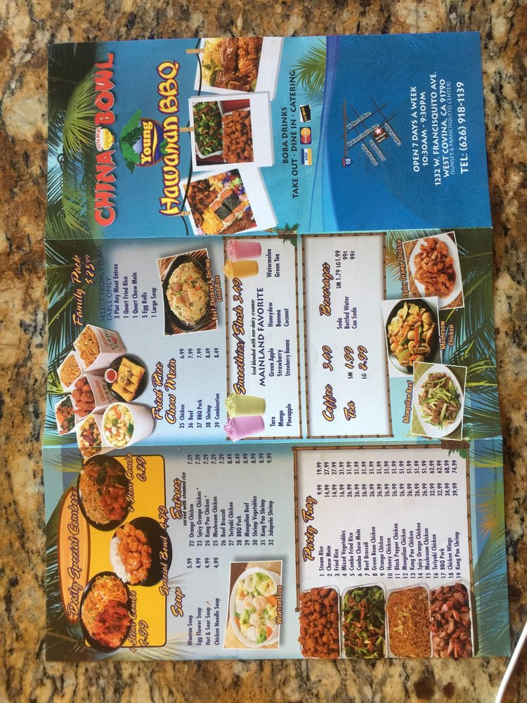 China Bowl 1232 W Francisquito Ave #4722, West Covina