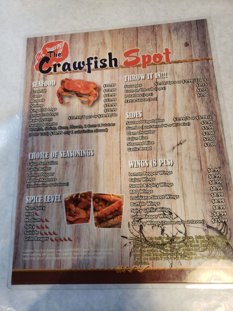 The Crawfish Spot 1011 S Glendora Ave, West Covina