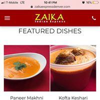 Zaika Indian Express