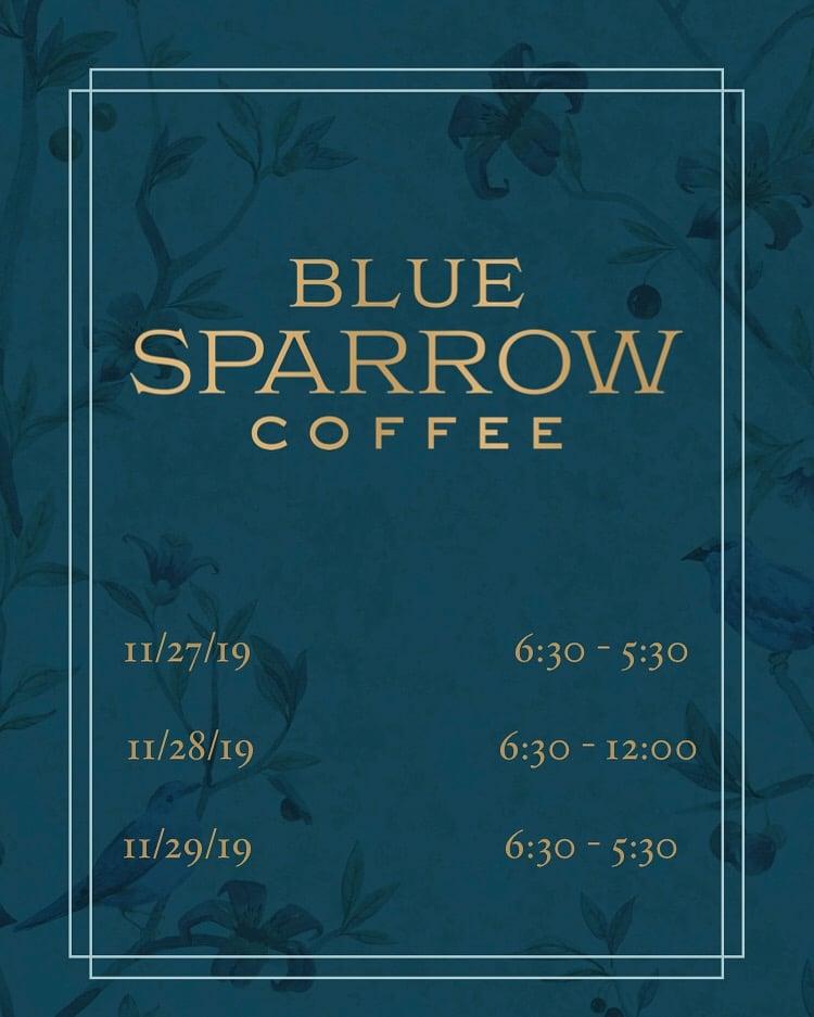 Blue Sparrow Coffee 1615 Platte St suite 135, Denver