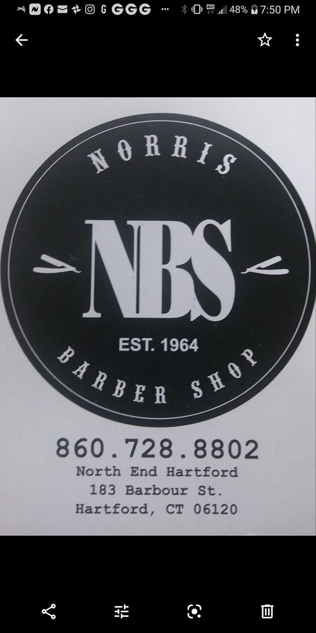 Norris Barber Shop 183 Barbour St, Hartford