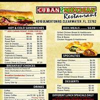 Cuban Mexican Restaurant