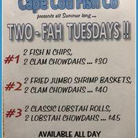 Cape Cod Fish Co