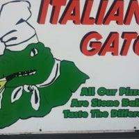 Italian Gator Pizza