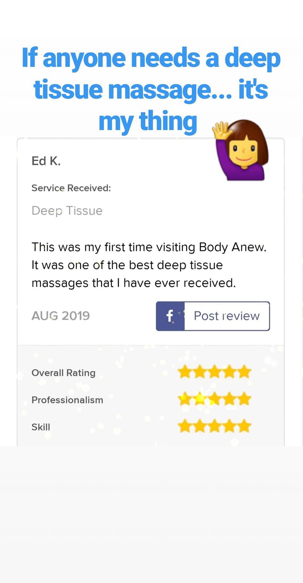 Body Anew Massage