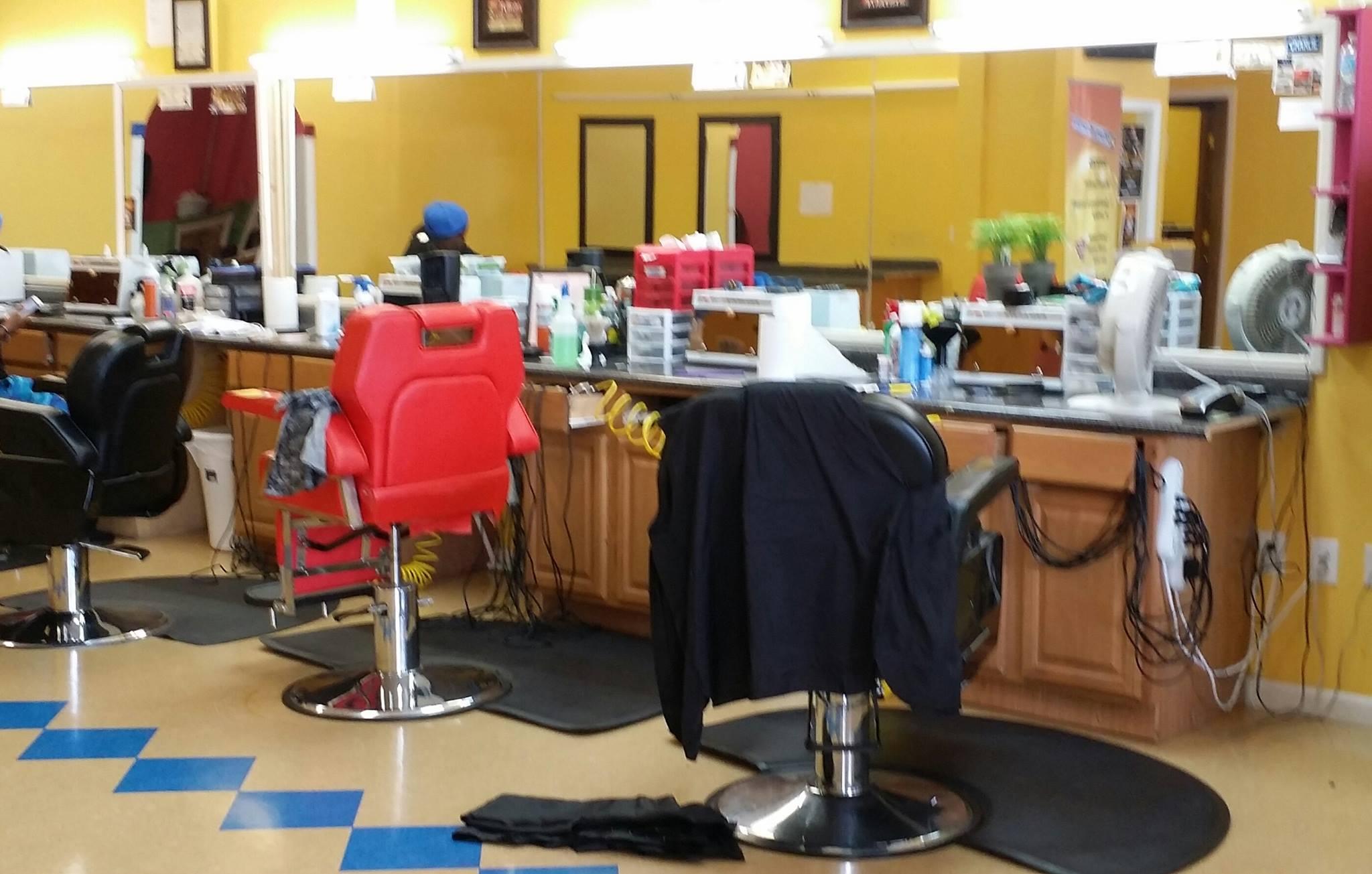 Mcnificent barber salon