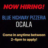 Blue Highway, a pizzeria