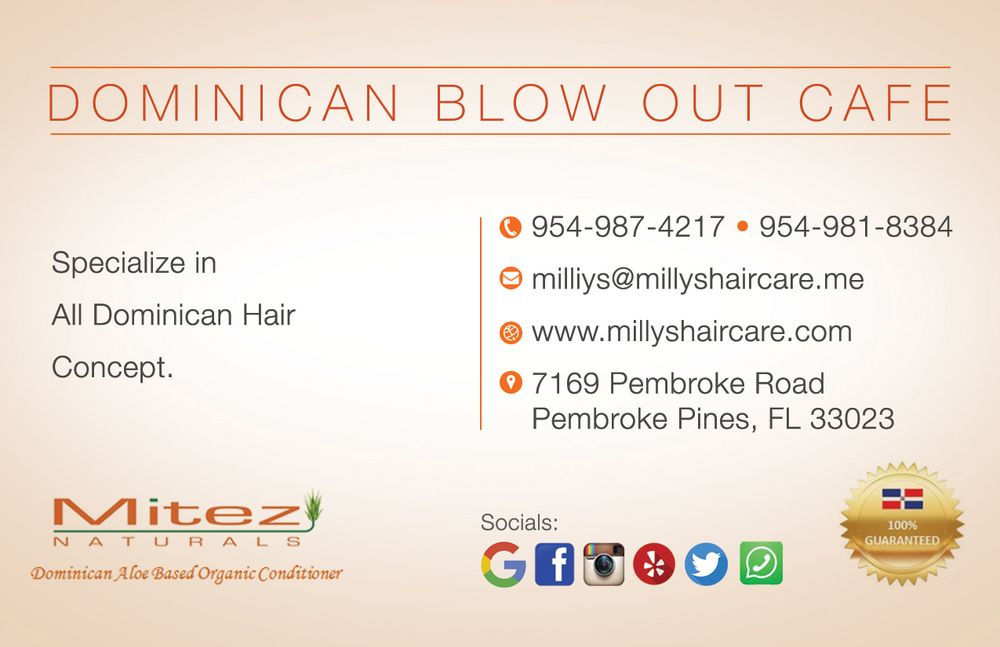 Millys Hair Care & Dominican Blowout Cafe
