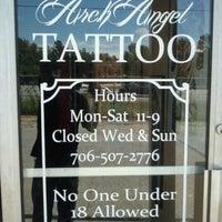 Arch Angel Tattoo