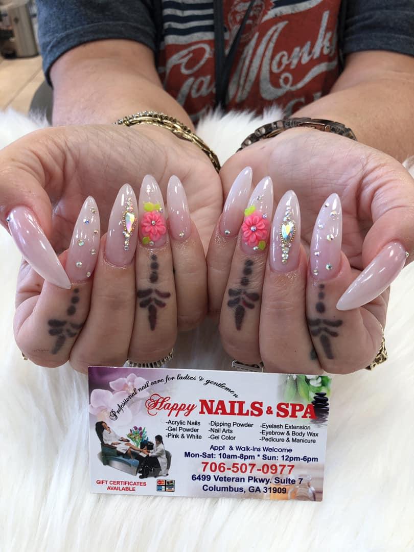Happy Nails 6499 Veterans Pkwy #7, Columbus