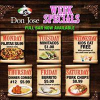 Don Jose Mexican Grill & taqueria