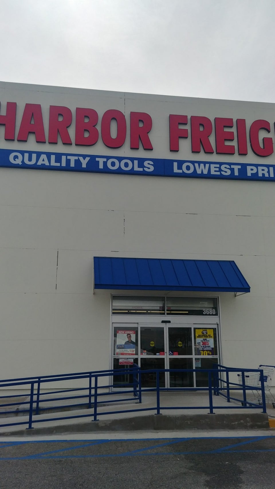 Harbor Freight Tools 3680 Eisenhower Pkwy, Macon