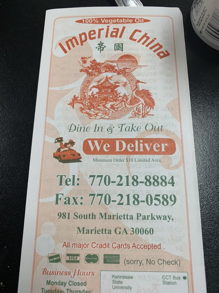 Imperial China Restaurant