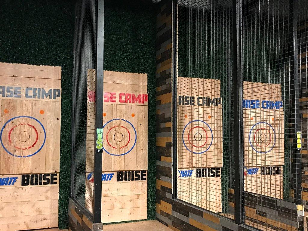Base Camp Pong + Axe