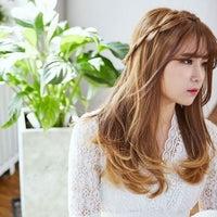 Park Jun Korean straight hair