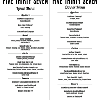 Bistro Five Thirty Seven